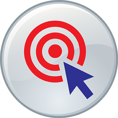 Circle with target and mouse pointer - FirstService Residential