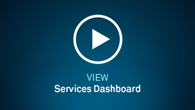 Connect's Service Dashboard