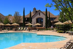 FirstService Residential Selected to Manage Anatolia in Rancho Cordova - Club house with pool